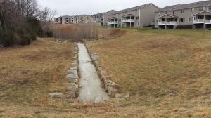 ConcreteStoneLinedDrainageway