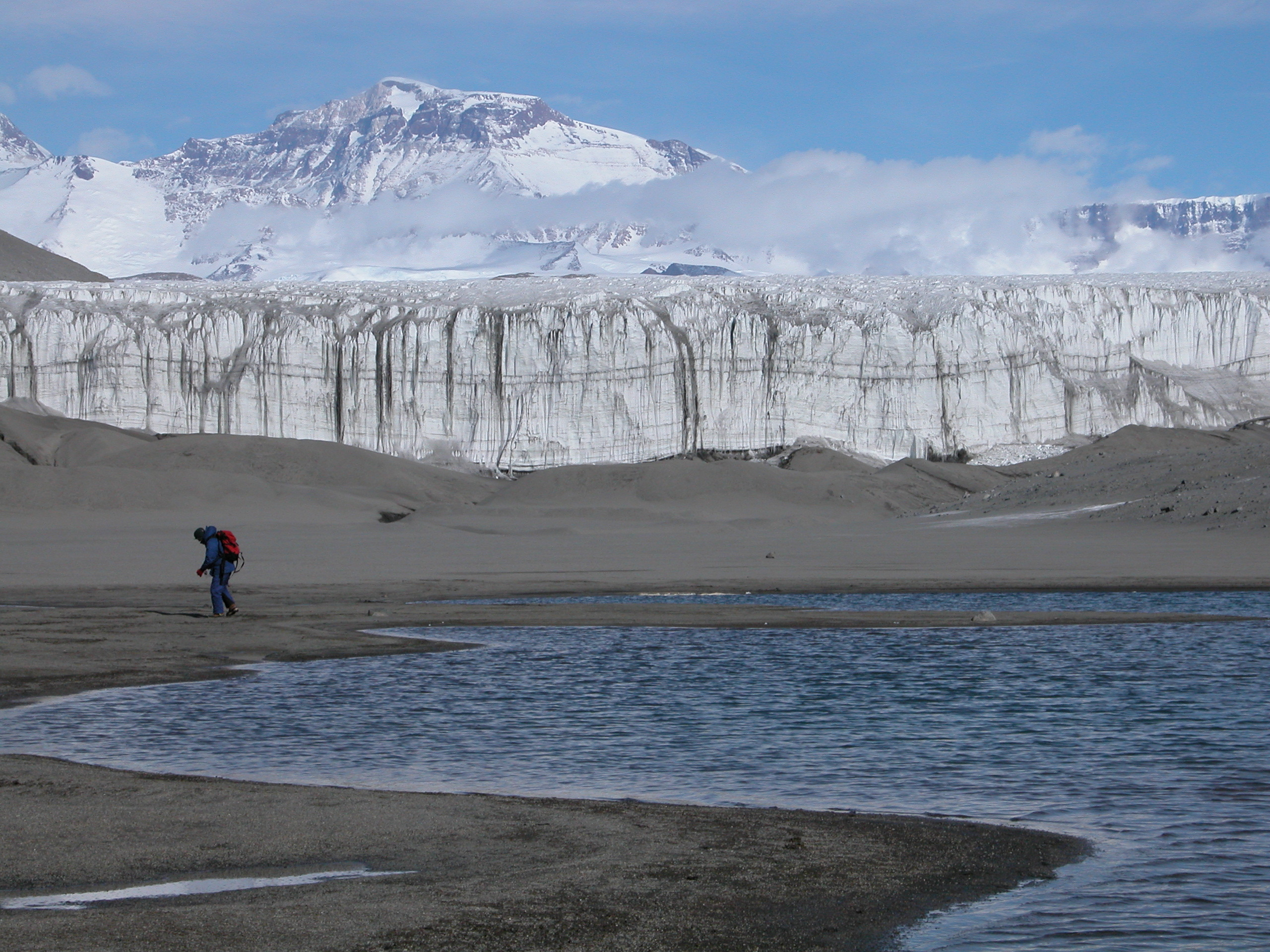 Soils on the shore of Lake Colleen, Antarctic Dry Valleys
