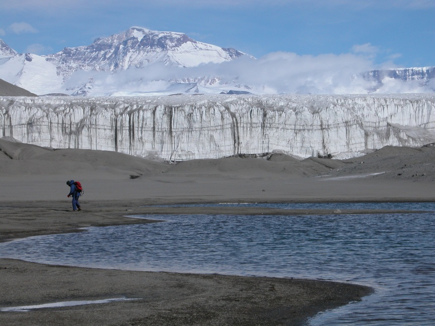 I've heard that soil microbes are living in Antarctica. How can thatbe?