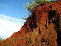 Soil, Basalt, Tropical soil, soil profile, red soils, Maracaí, Brazil.