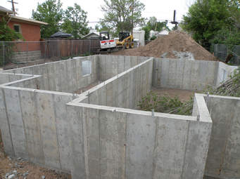 basement foundation plain