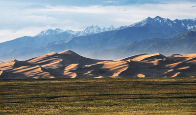 "How was Great Sand Dunes National Park ""made?"""